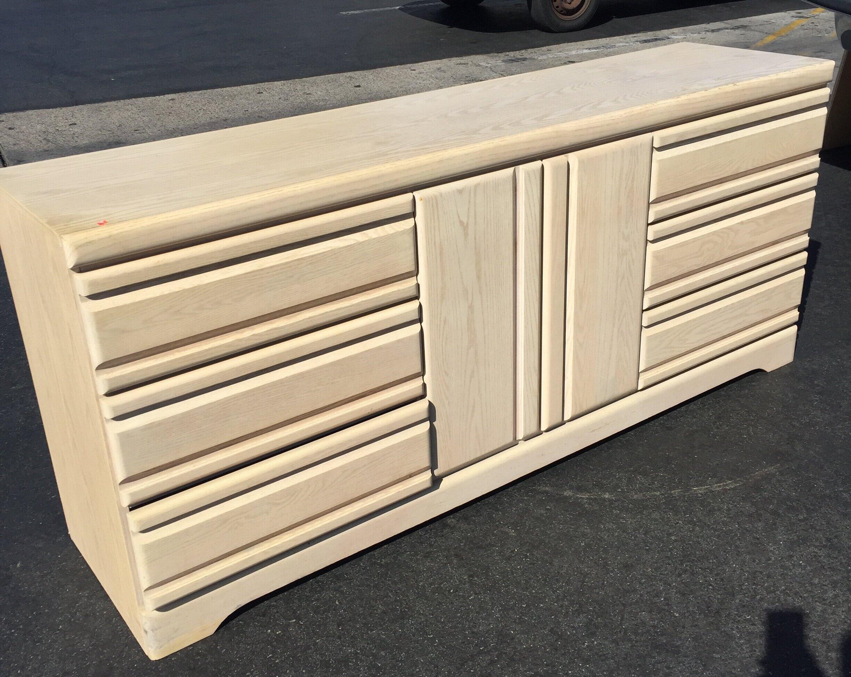 90s+Modern+Style+Oak+Dresser