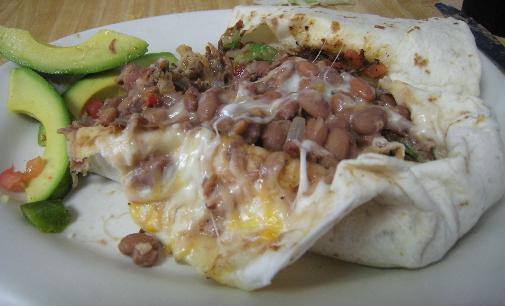 Machaca Burrito  Photo credit: Gil Garduño.