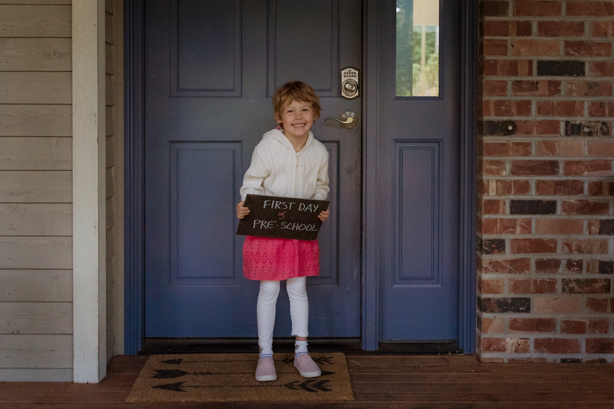 day 13 {first day of school}