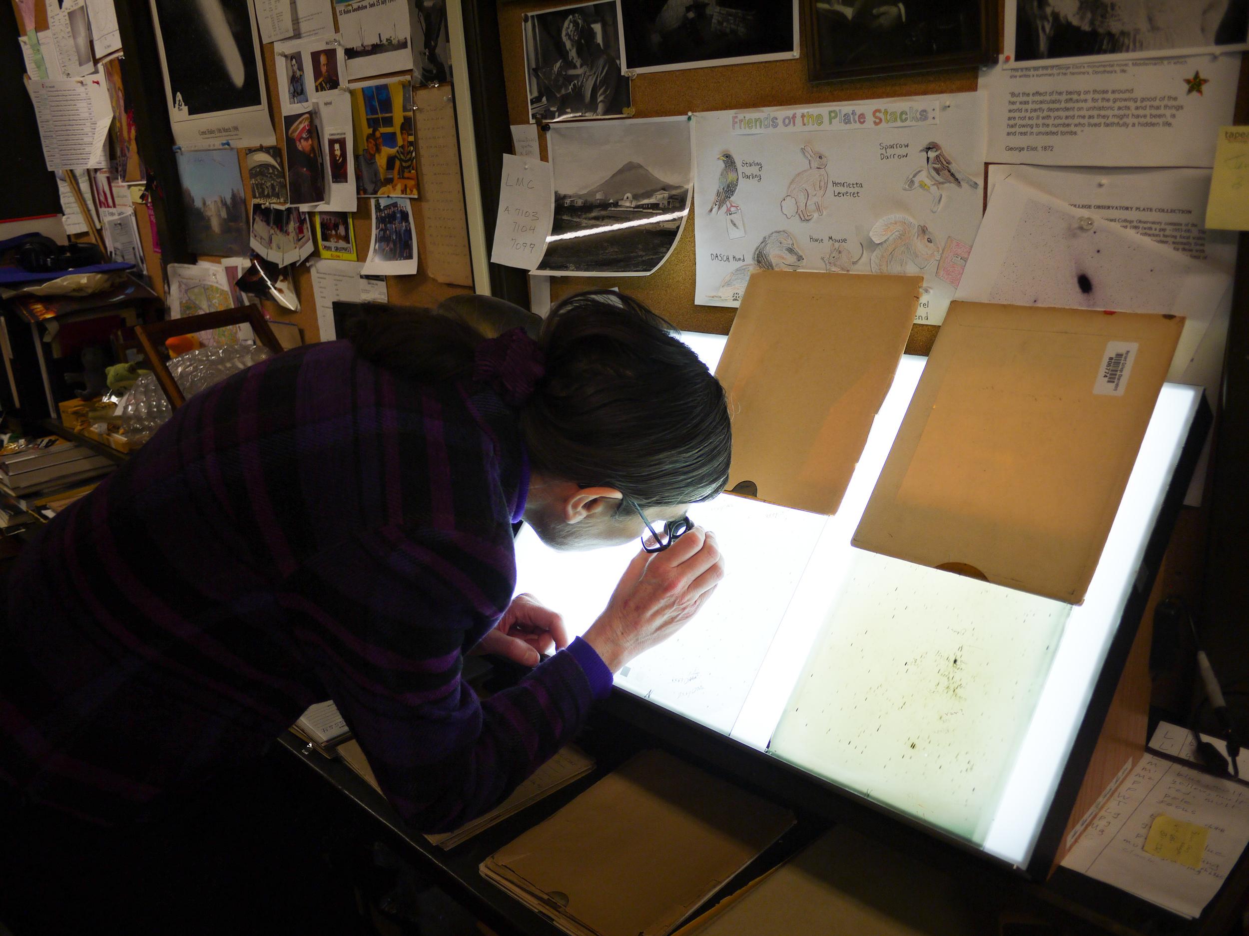Alison Doane, Curator of Astronomical Photographs