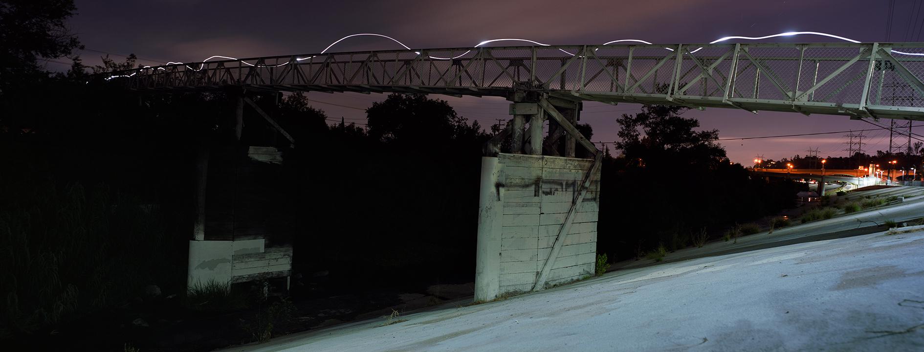 LA River Footbridge