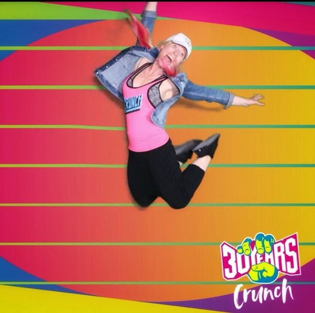 Celebrating crunch's 30th Bday!!! 💗#crunchthrowback30