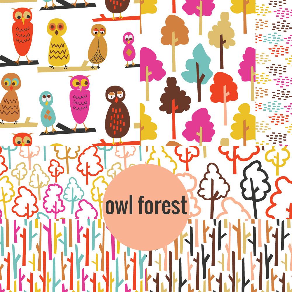 © tammie bennett :: owl forest cover