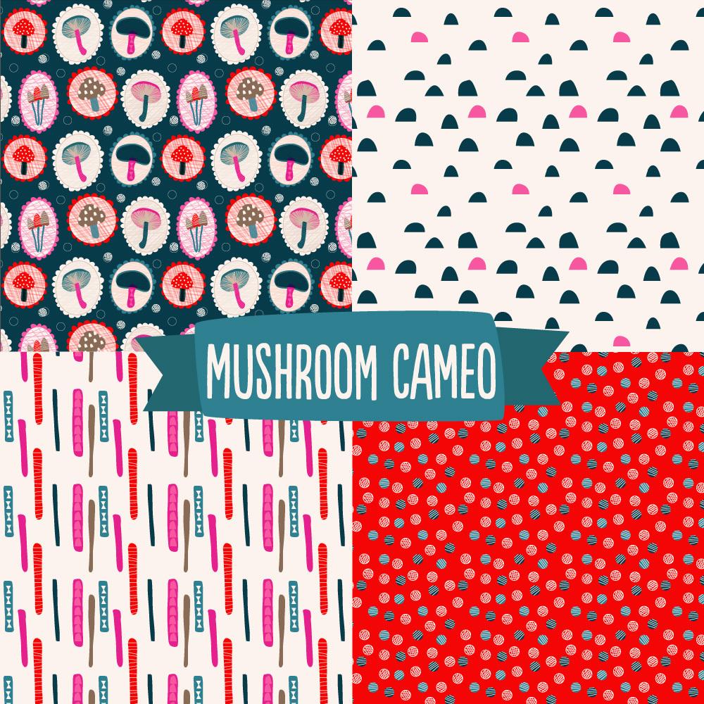 © tammie bennett :: mushroom cameo cover