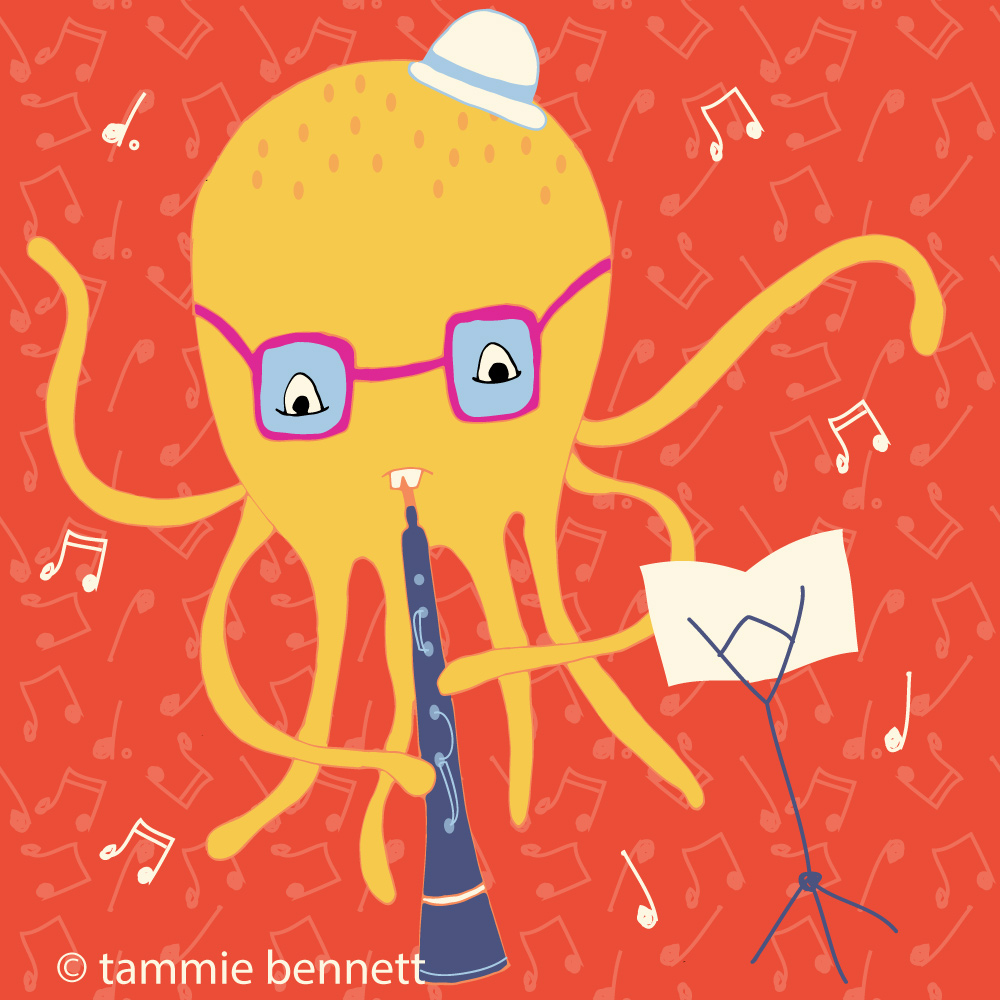 tbennett-o is for octopus