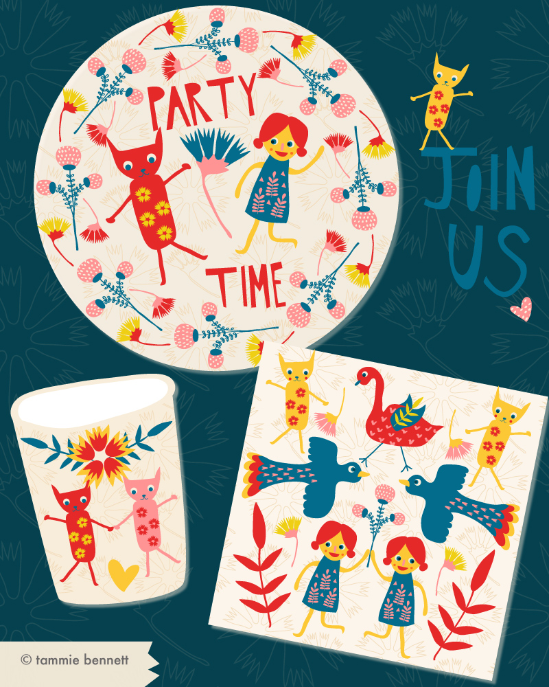 tbennett-folk art party