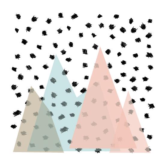 tammie bennett's mountain shades print