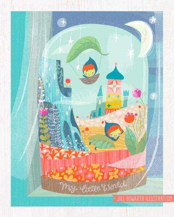 jill howarth's terrarium