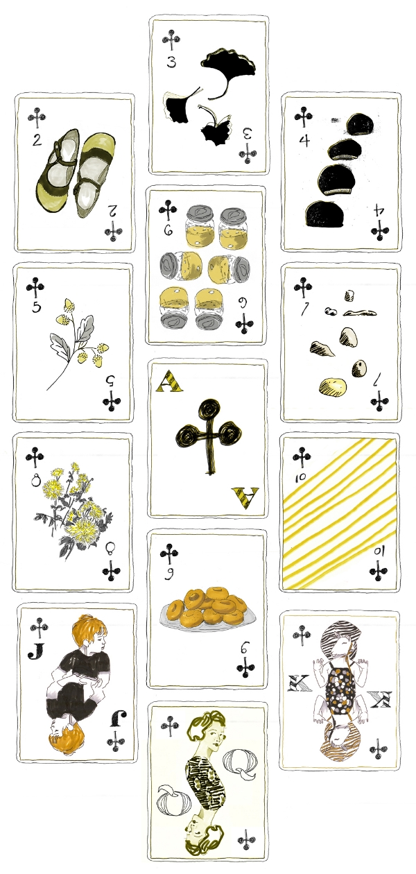 kimberly allen hall's 52 week deck of cards project
