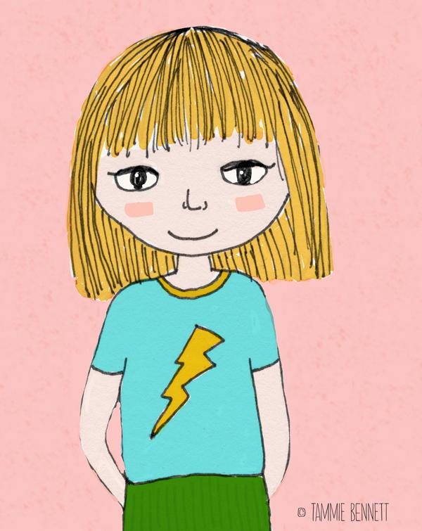 tammie bennett's lightning girl