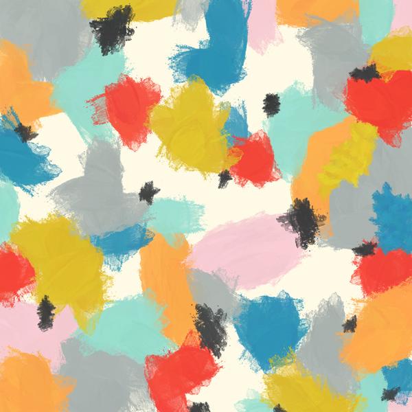 tammie bennett's crowds art print