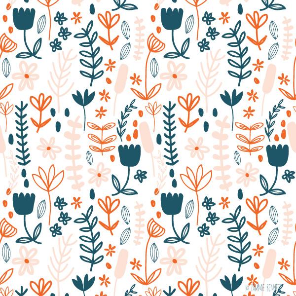 ©tammie bennett floral pattern
