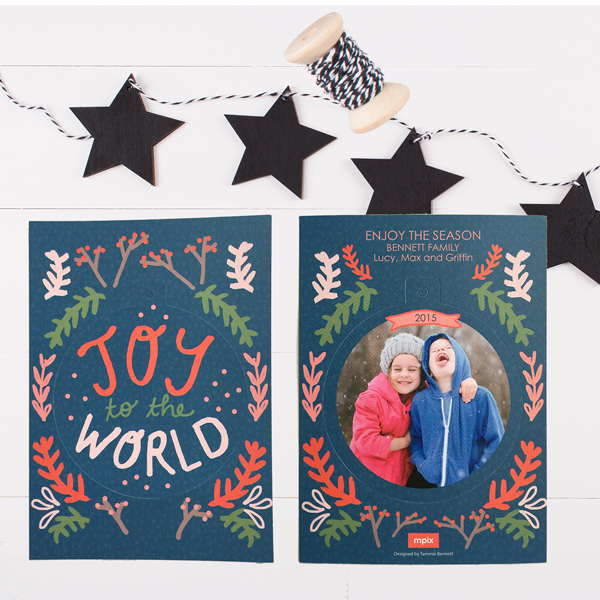 these are fun pop out ornament cards!