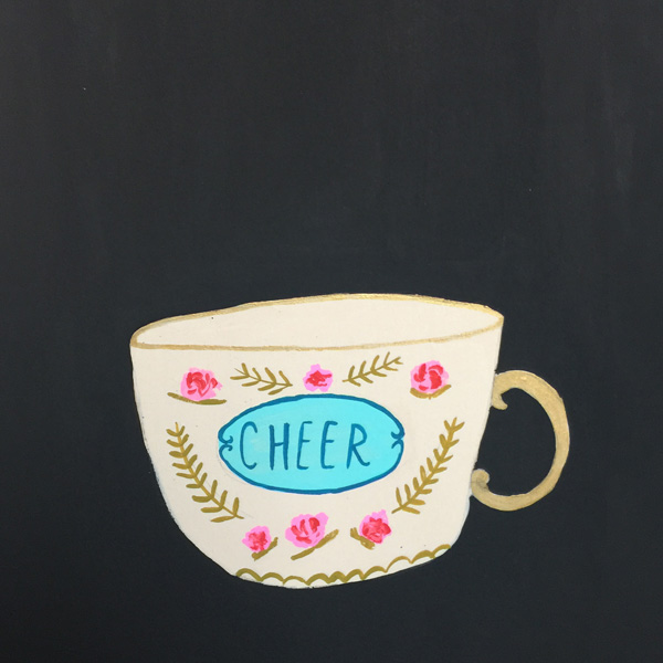how about a cup of cheer - personal project