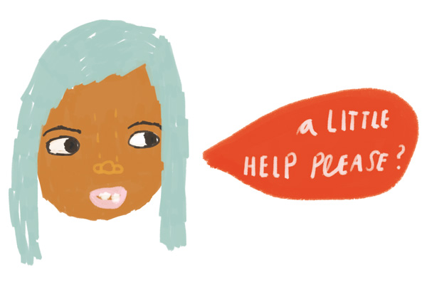 help girl - personal project