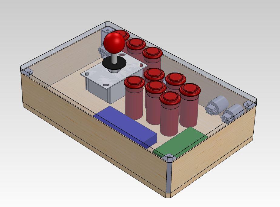 Raspberry Pi Arcade Controller — cuddleburrito