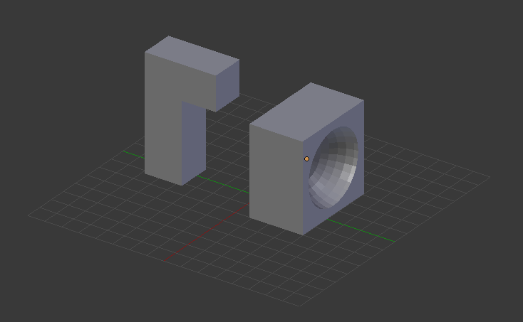 Printing in this orientation would require support material to be printed for the overhangs