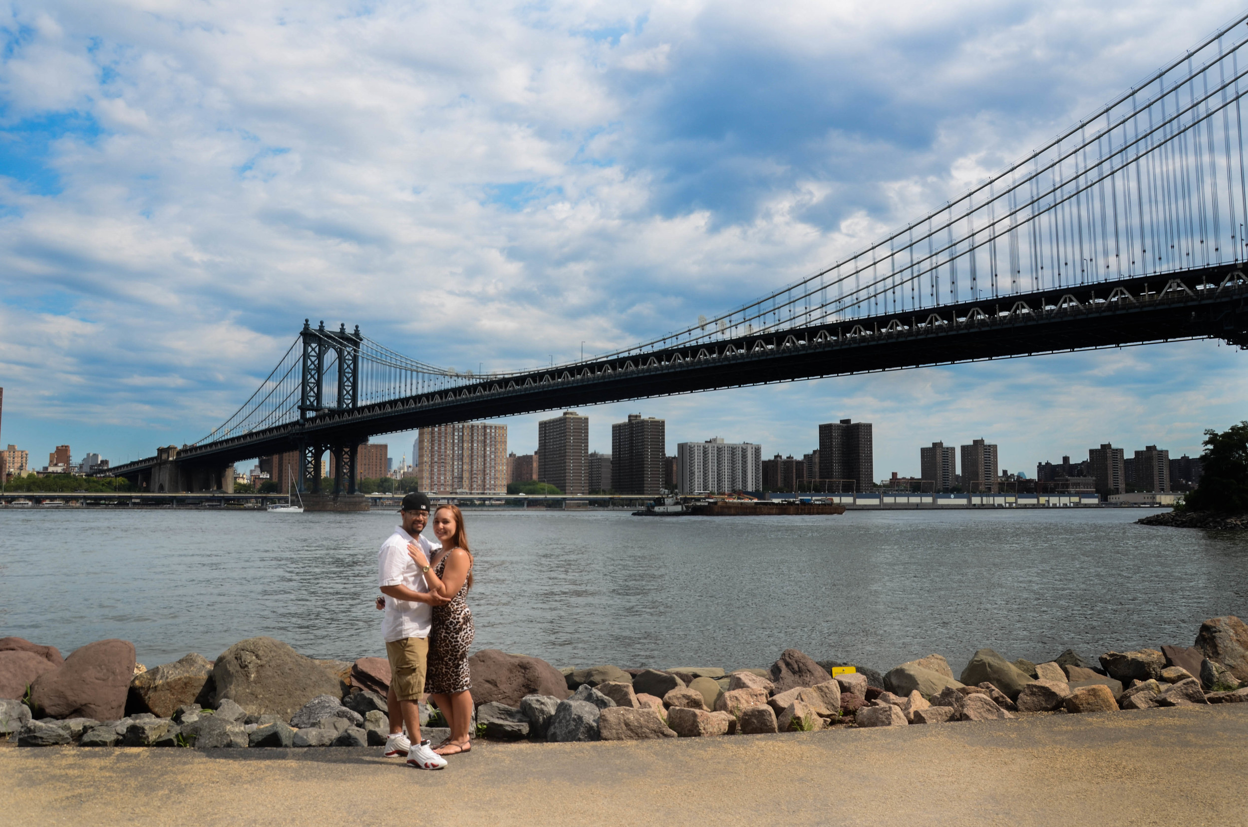 Brooklyn Bridge Park wedding photographer