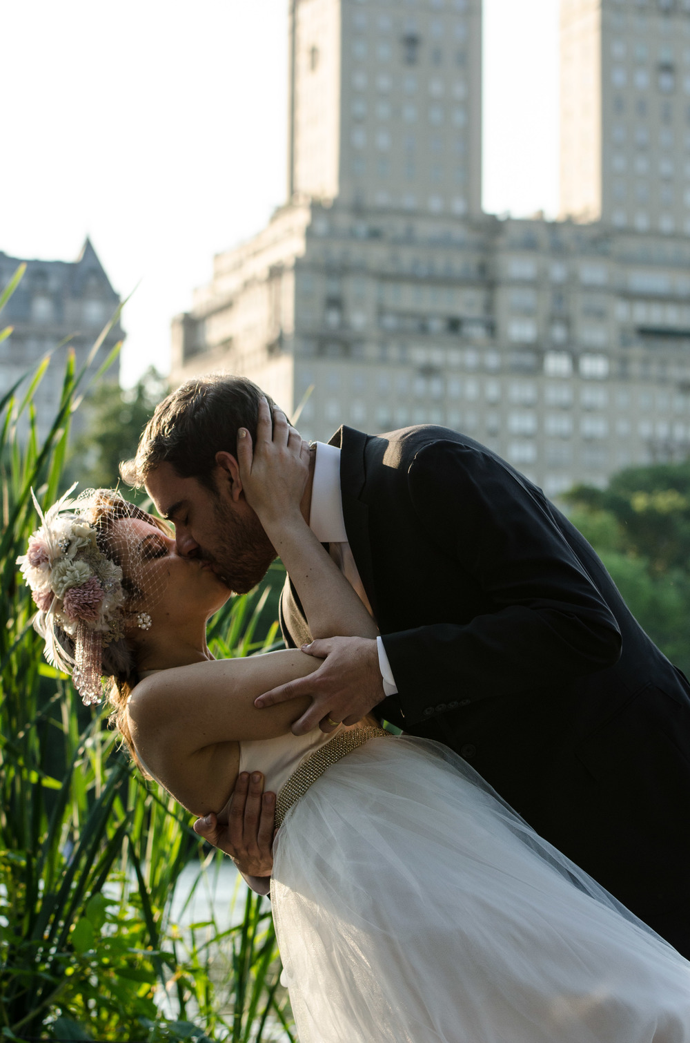 New york City central park wedding