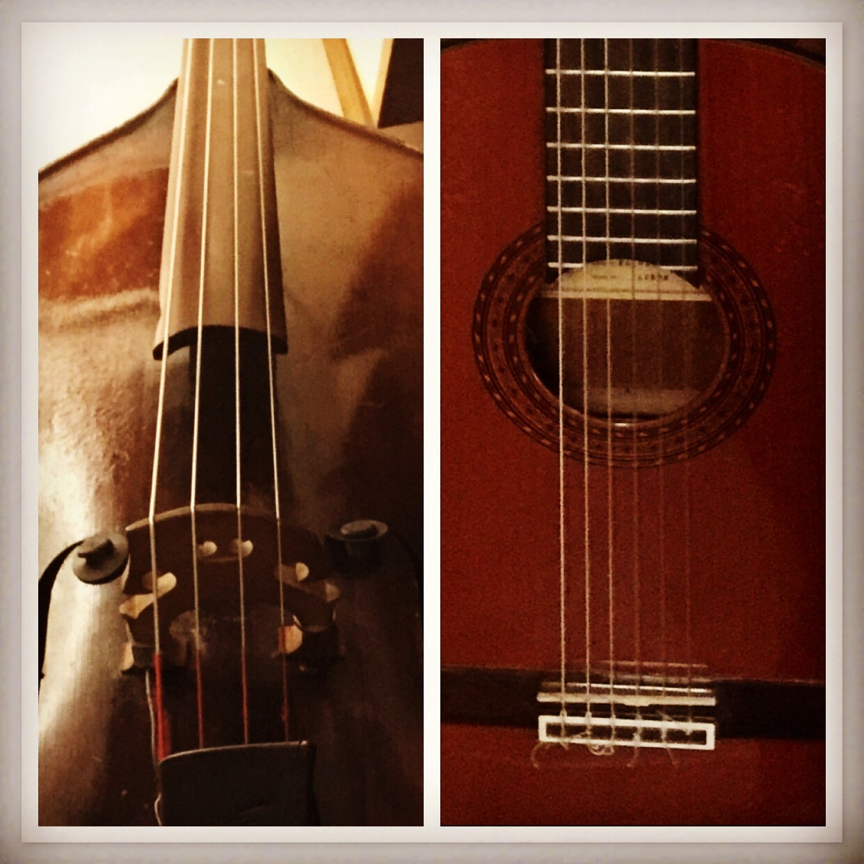 #uprightbass #acousticguitar