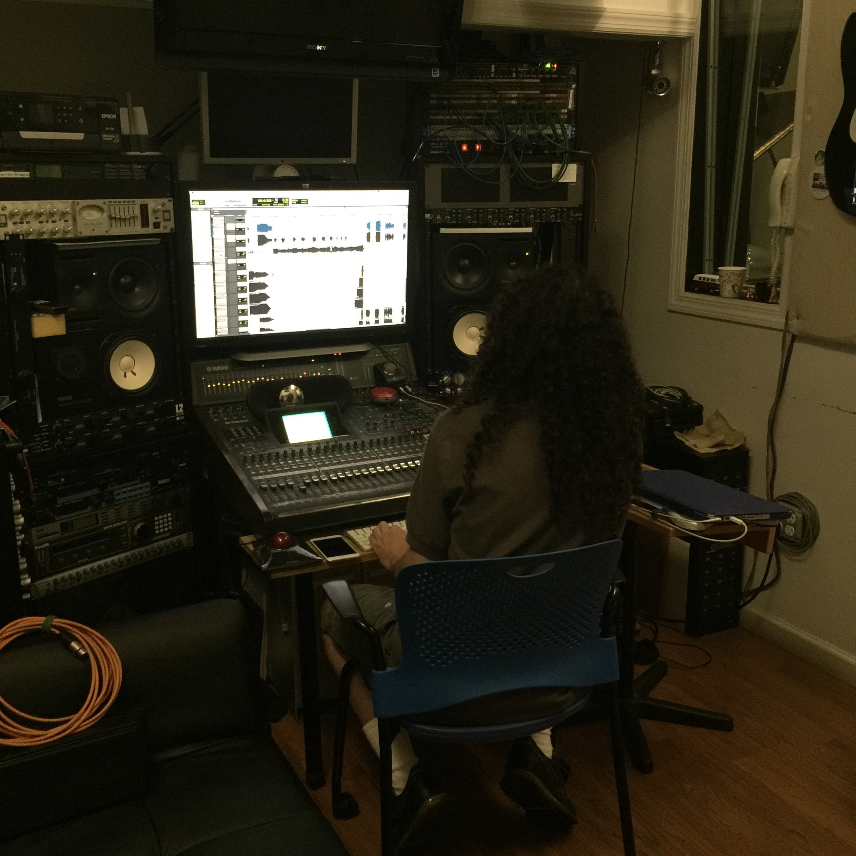 Recording voice, acoustic guitar 08/04/16