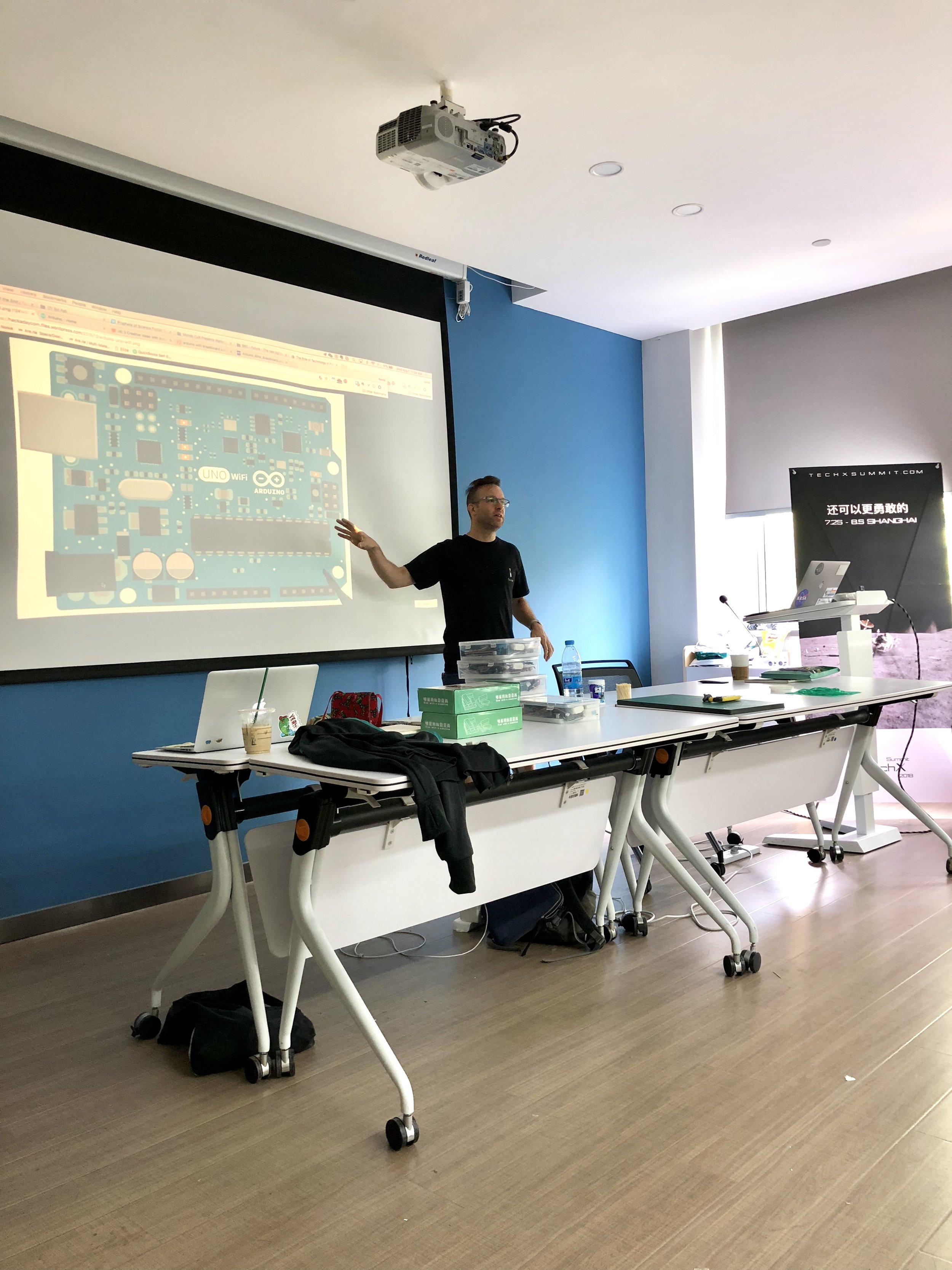 Sands teaching Introduction to Arduino