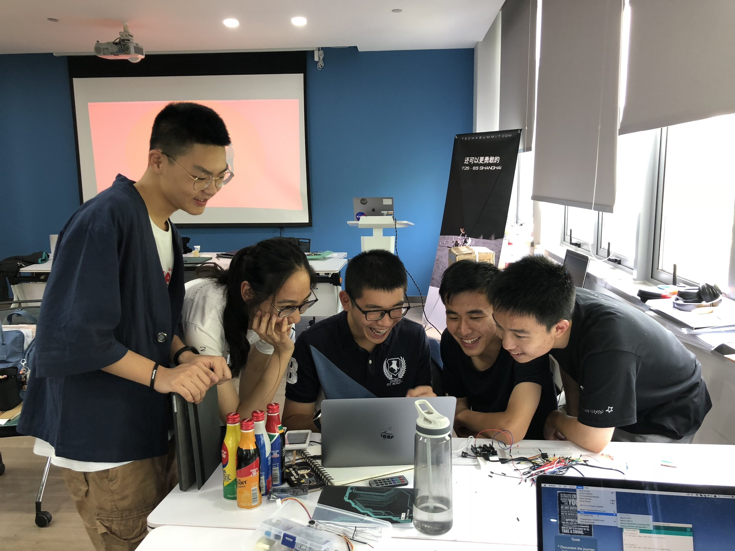 Arduino peer-teaching