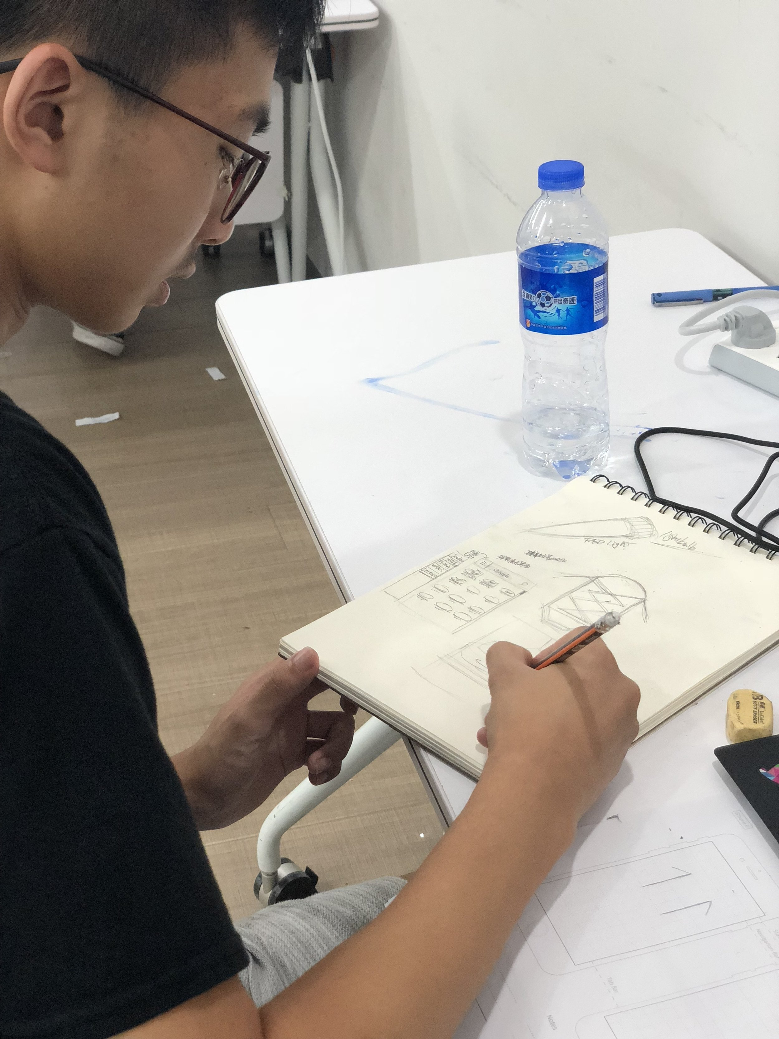Sketching a mobile shopping UI