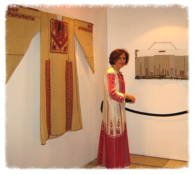 Najat El-Khairy exhibiting at the United Nations in New York