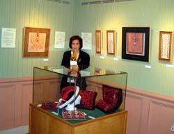 Domaine Joly-De Lobiniere   Quebec City (May - October 2009)  Des arts anciens au fil du temps