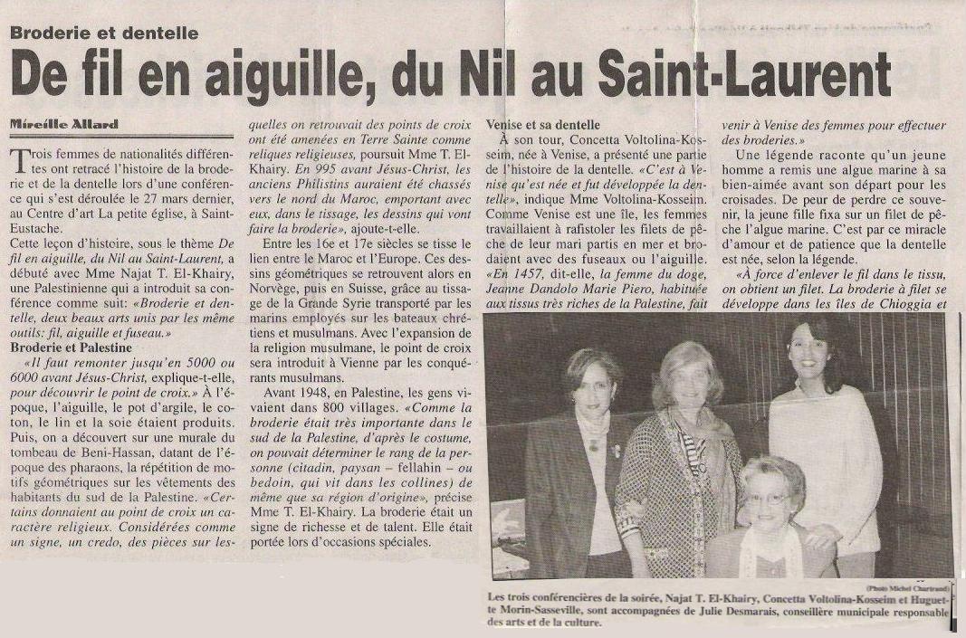 FIl et Aiguille -27 Mars 2001