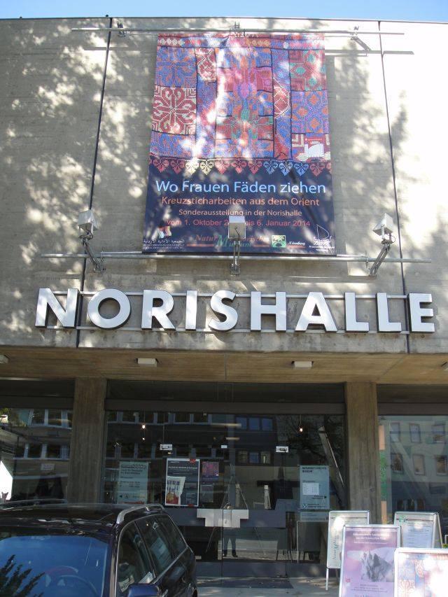 Norishalle, Nürnberg, Exhibition with Widad Kawar - Oct '13- Jan '14