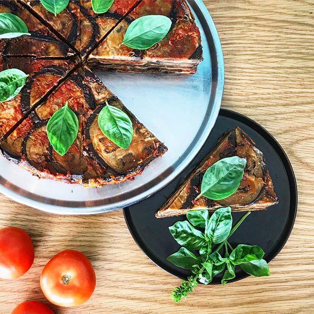 Eggplant parmigiana. Delizioso! And gluten free. #bronte #sydneyeats #sydneybrunch #foodie #glutenfree