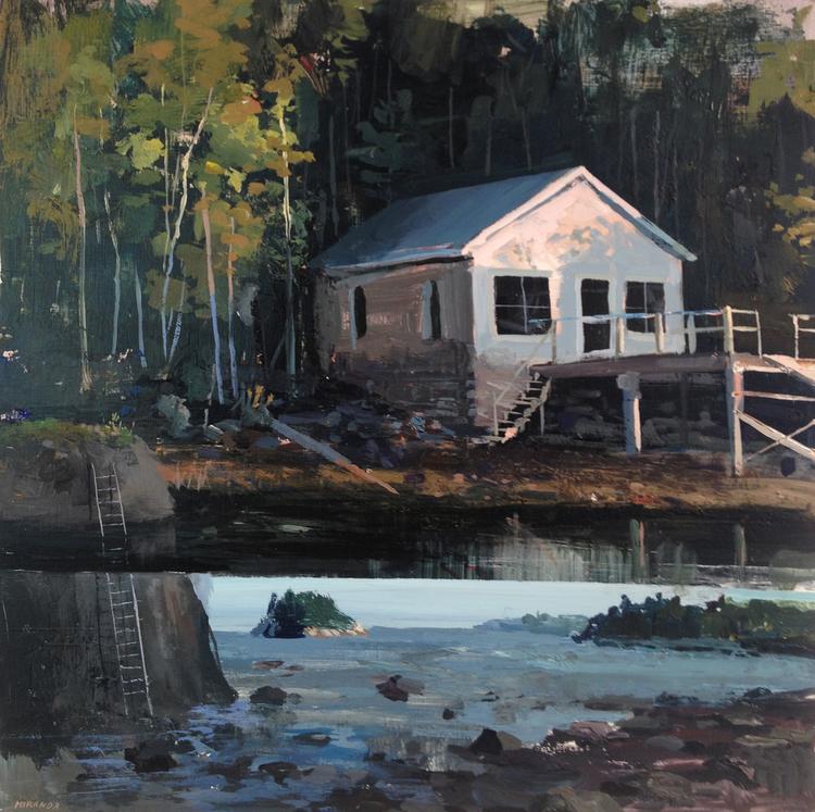 Jeremy Miranda , Low Tides (oil on canvas)