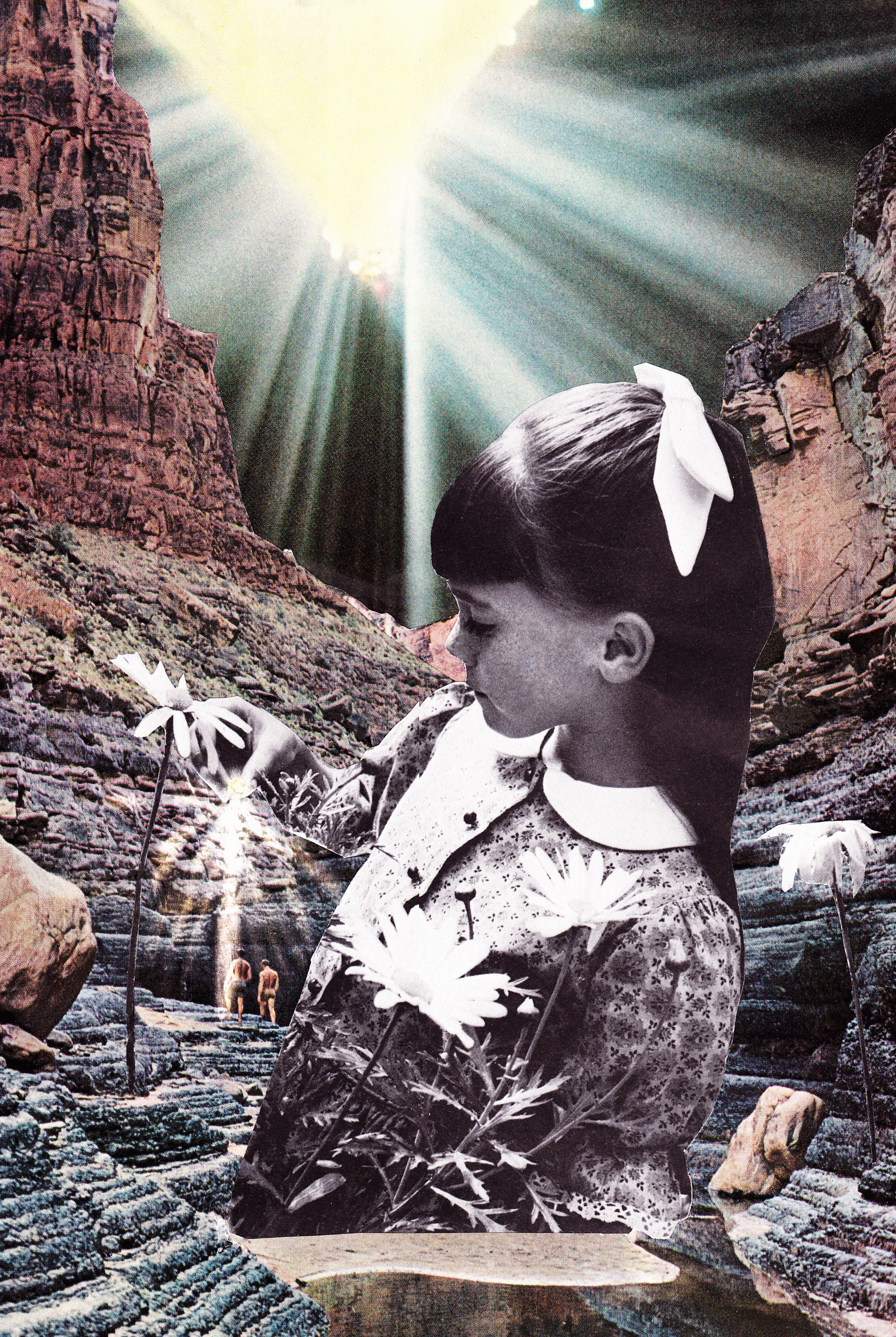 Erin Case  ,  Cavesongs  (collage)