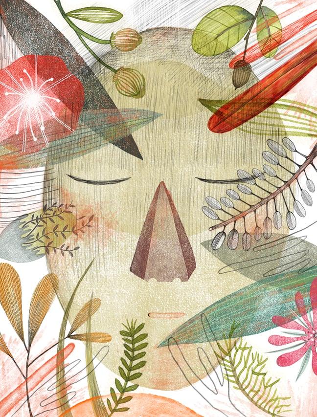Seo Kim , Scarecrow  (digital illustration)