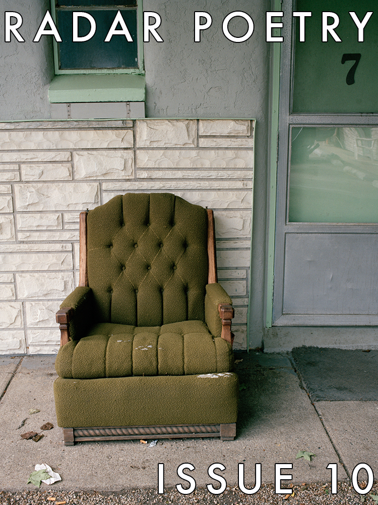 APRIL 2016. Cover Art:  G reen Chair, Kalamazoo, Michigan,     2007     by  Tema Stauffer