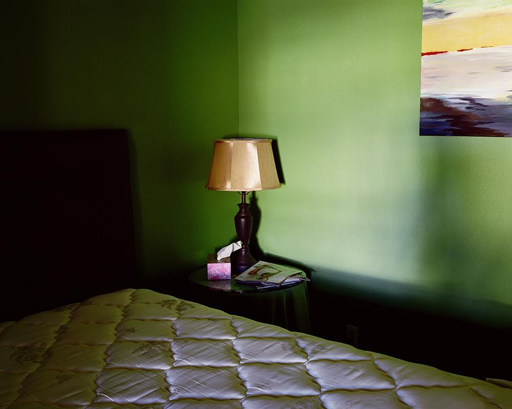 Tema Stauffer ,  Bedroom, Dream Catchers Sleep Lab, Dripping Springs, Texas, 2007  (photograph)
