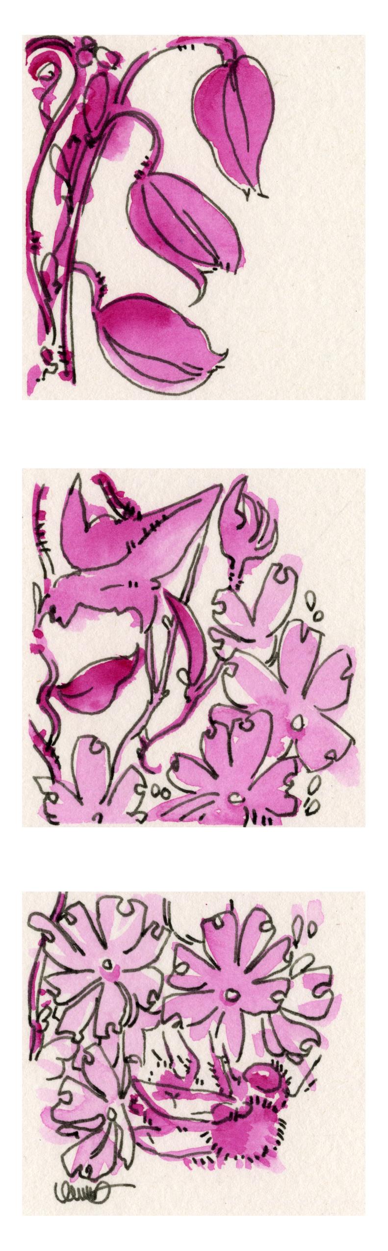 Ursula Murray Husted , Garden  (watercolor)