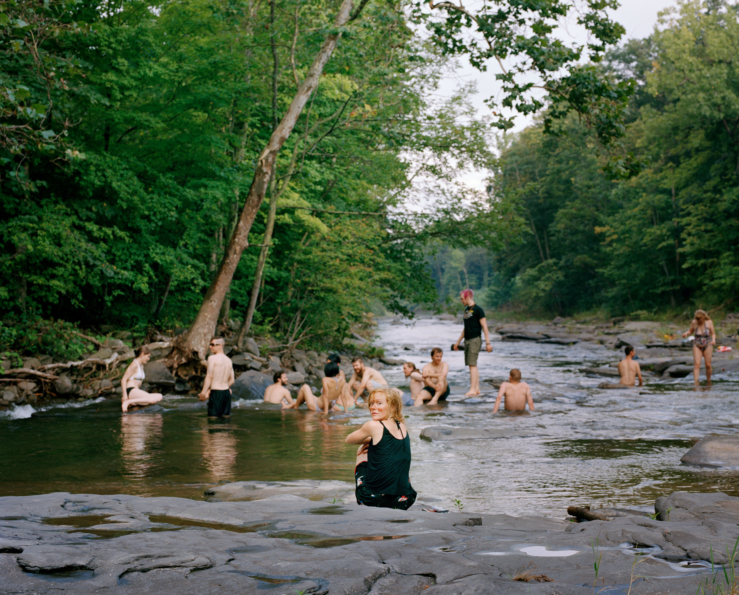 Ashley Valmere ,  River People  (photograph)