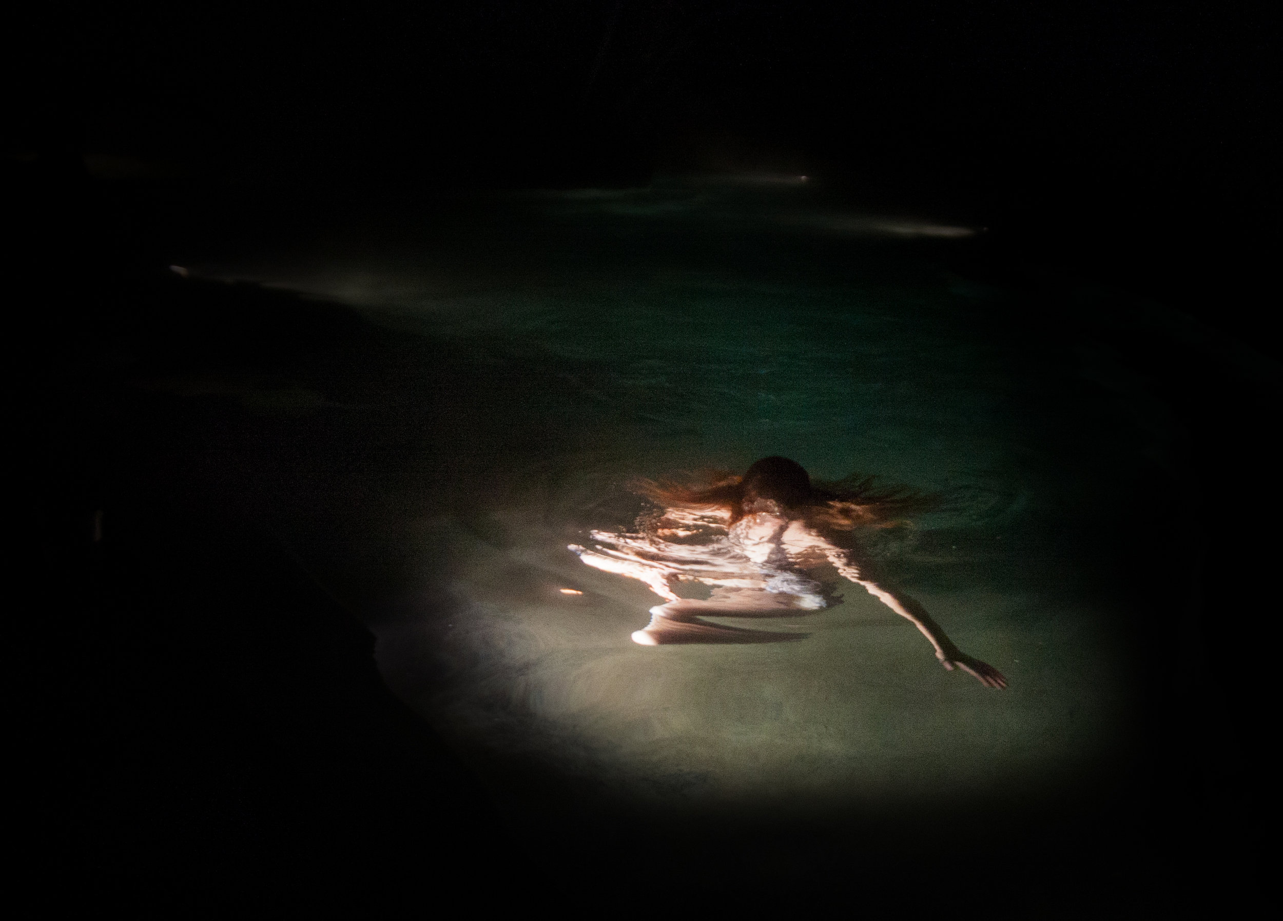 Ashley Valmere ,  Yvette in Water  (photograph)