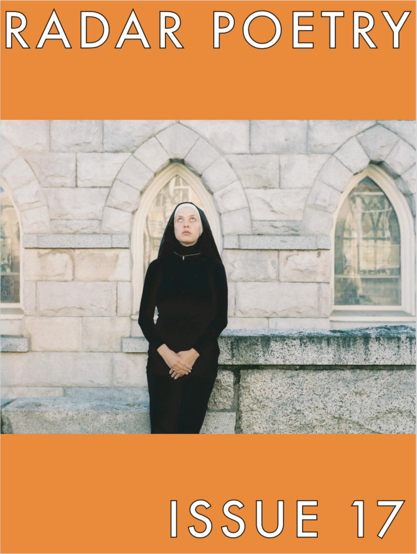 JANUARY 2018. Cover Art: Self-Portrait As A Nun  by  Chelsea America .