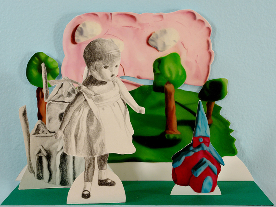 """Julie Farstad ,  Haunted Summer , detail, 2007 Approximately 8 x 6 x 4"""""""
