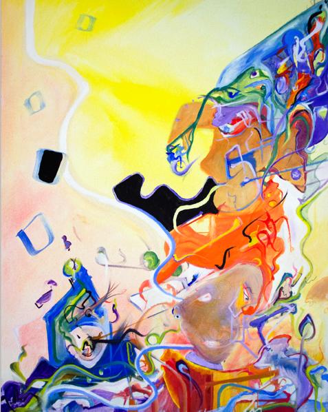 Sara Potocsny  , Diane at Dawn , 2018  Oil on canvas