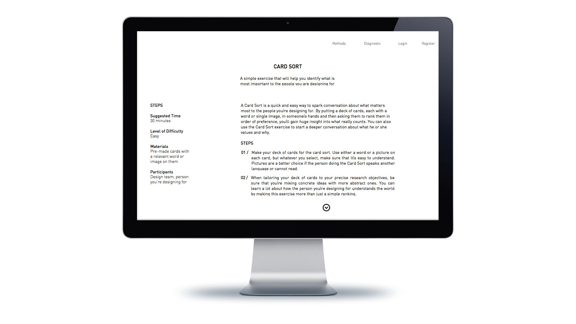 Start-ups are provided with a summary of each toolkit and step-by-step instructions on how each technique works