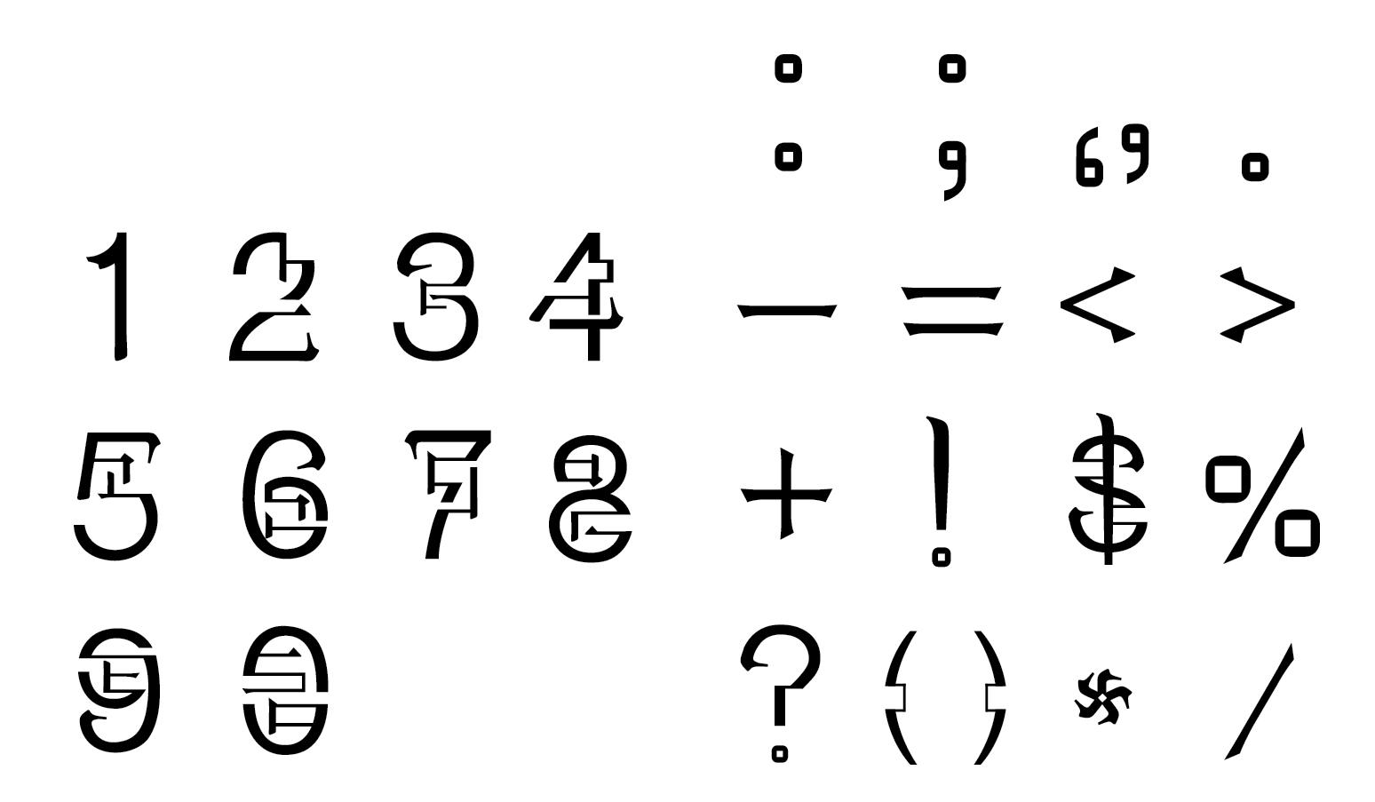 Valticao Typeface — Vanessa Gao