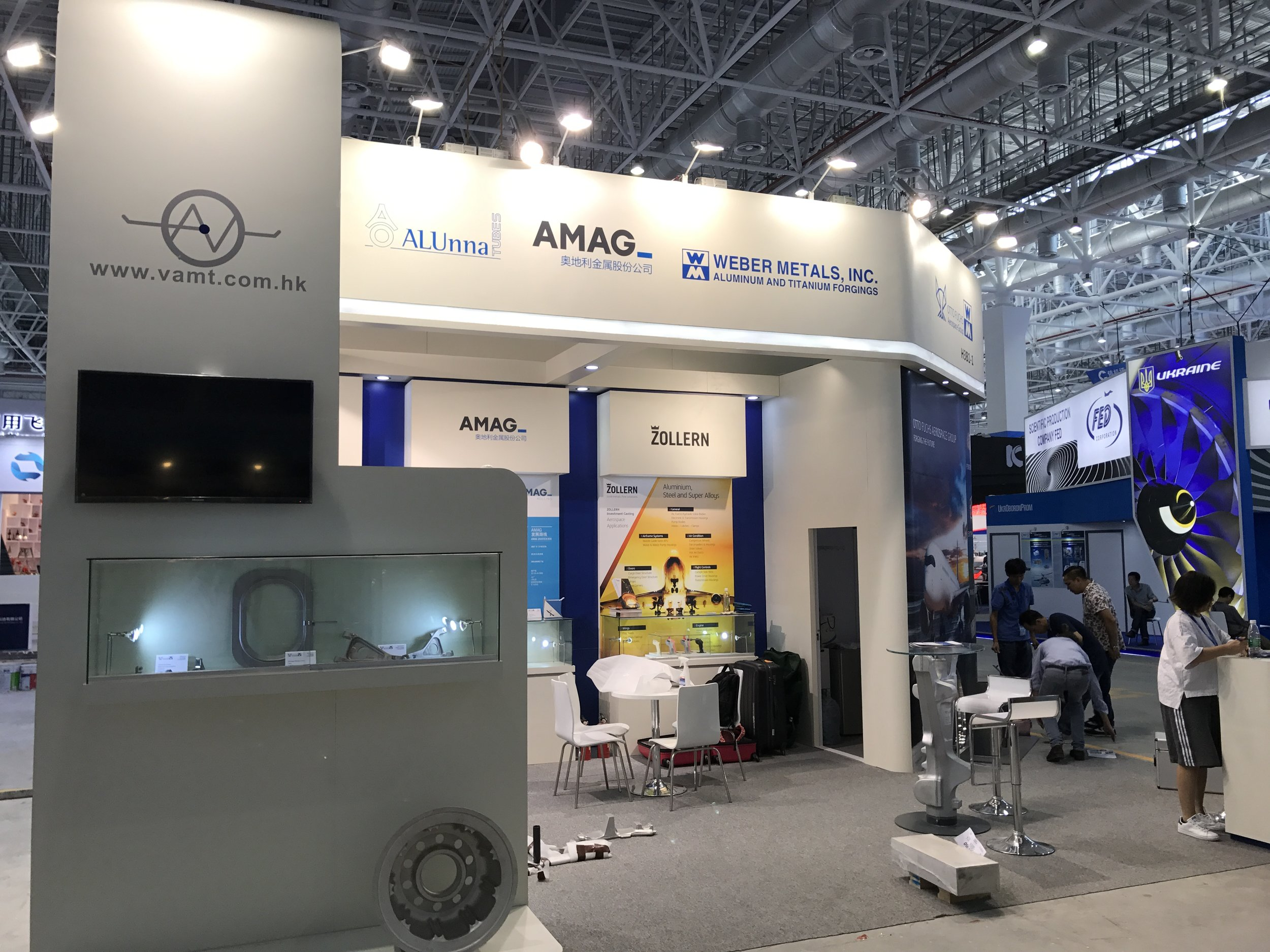 @vamt find: AMAG, ALUnna, ZOLLERN and the Otto Fuchs Aerospace Group (Otto Fuchs & Weber Metals)