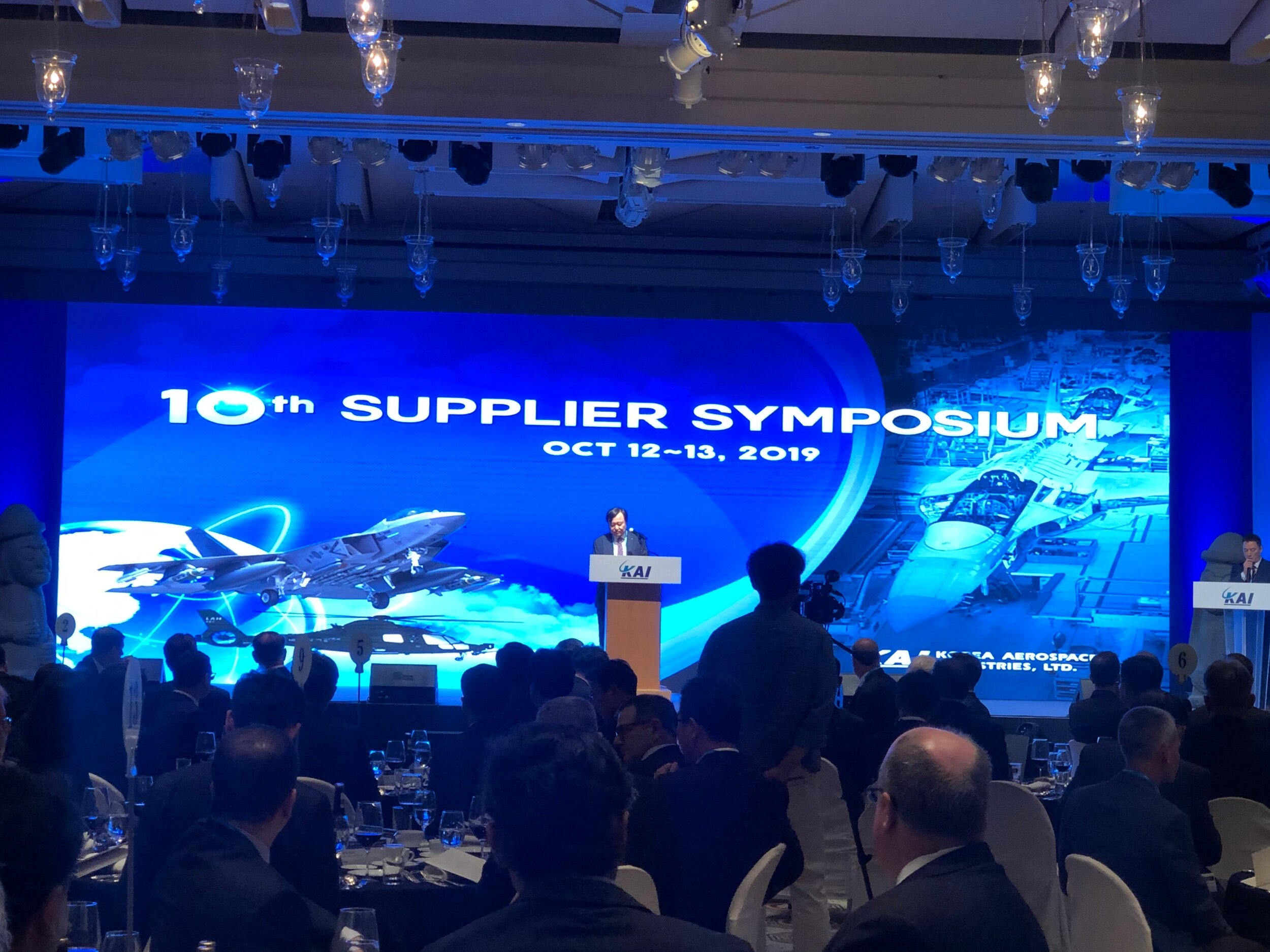 KOREAN AEROSPACE INDUSTRIES President and CEO opening speech at the 10th Supplier Conference