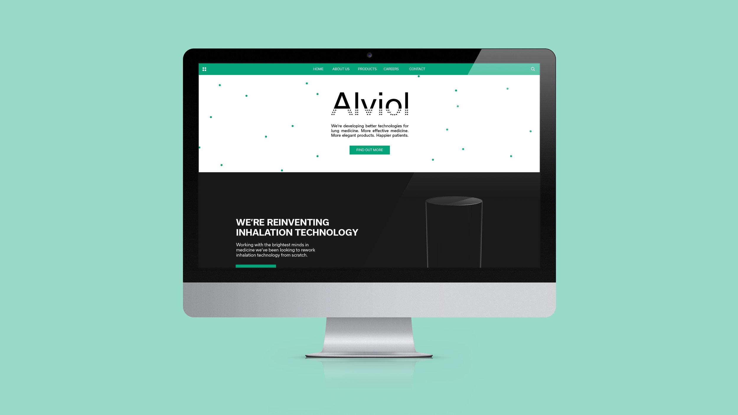 Alviol_Web Mockup_Craig McGarrell