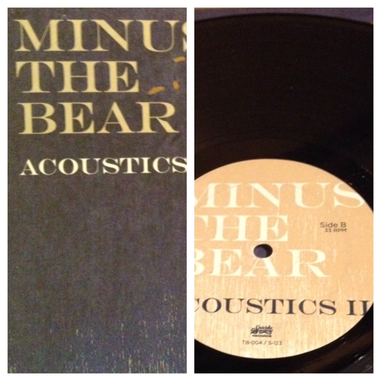 Minus The Bear - Acoustic II on vinyl